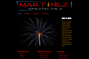 Martinez Specialties Inc